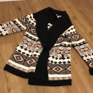 SUPER THICK KNIT WINTER SWEATER